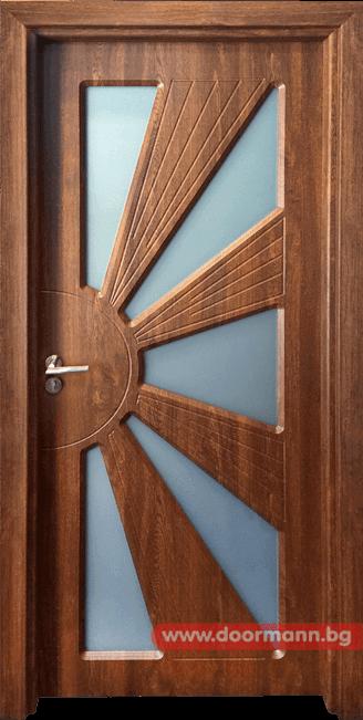 Интериорна врата Gama 204 - Златен дъб