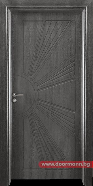 Интериорна врата Gama 204p - Сив кестен
